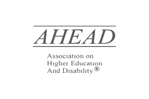 Association on Higher Education and Disability (AHEAD) Logo